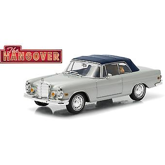 Mercedes Benz 280 SE Convertible with Tiger Diecast Model Car from The Hangover