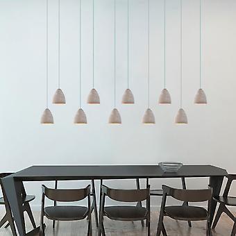 Terra10 Mini Pendant Lighting Concrete - LED Hanging Light Fixture