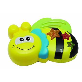 Music Toy Bee met 8 verschillende melodieën en licht van 18 maanden
