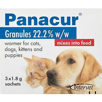 Panacur Granules 3 x 1.8g Sachets for Dogs and Cats