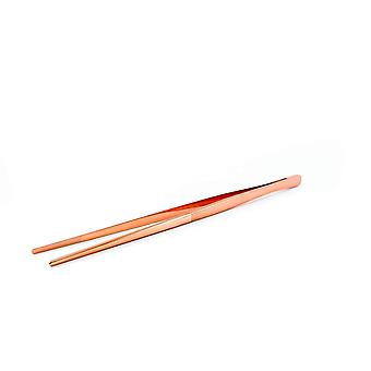 Long Copper Garnish Tweezers