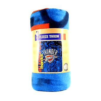 Oklahoma City Thunder NBA Northwest Fleece Throw