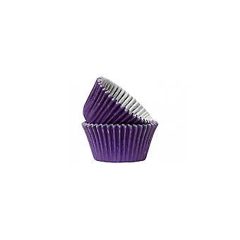 Culpitt paarse cupcake hoesjes-Pack van 50