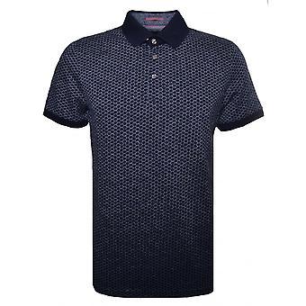 أزرق تالفورد قصيرة تيد بيكر الرجال بأكمام قميص بولو