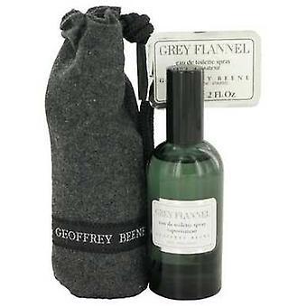 Grey Flannel By Geoffrey Beene Eau De Toilette Spray Pouch 2 Oz (men) V728-413738