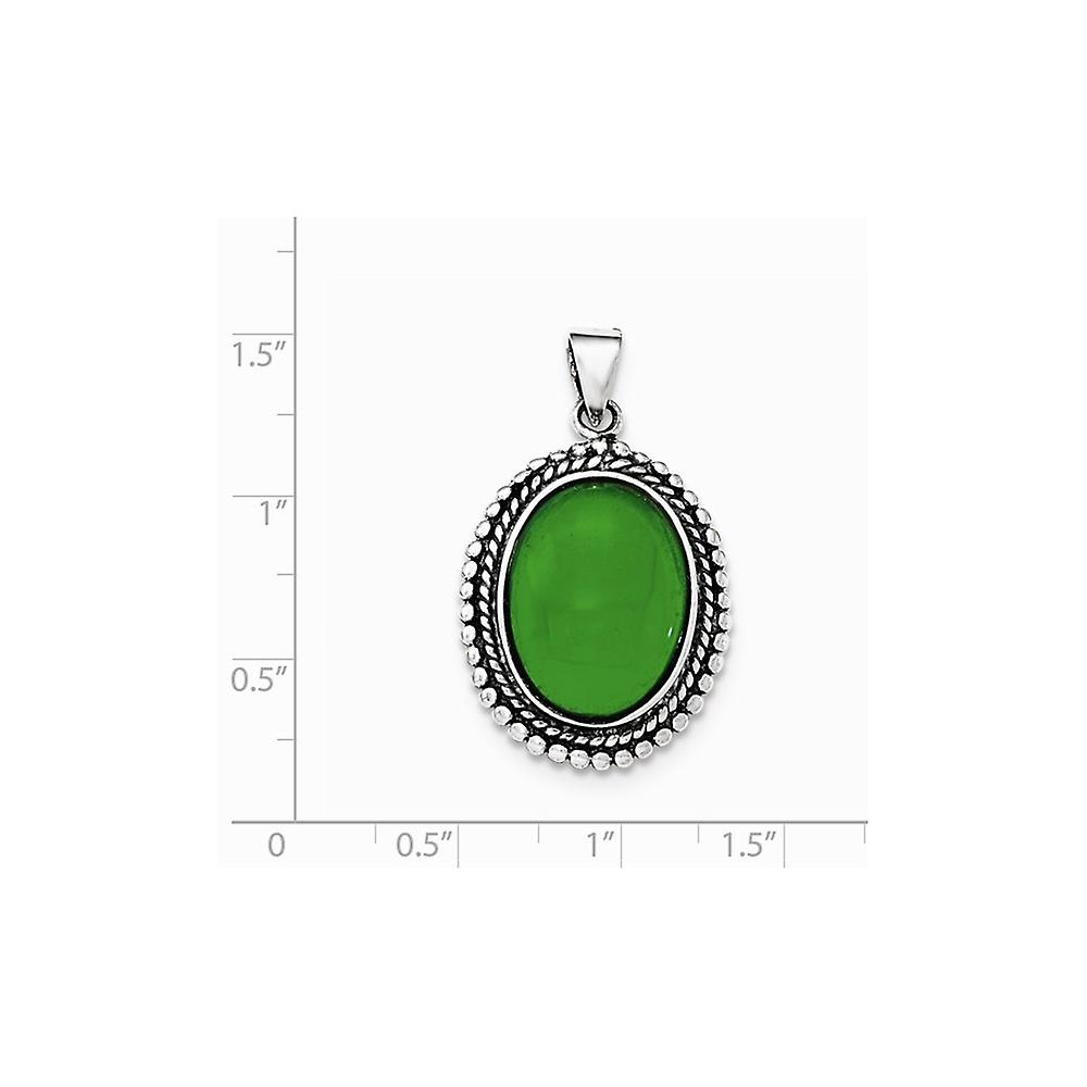 925 Sterling Silver Aventurine Pendant Necklace Jewelry Gifts for Women