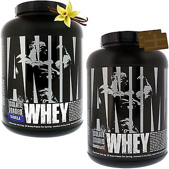 Universal Nutrition Animal Whey Isolate Loaded Protein Powder - 68 Porciones
