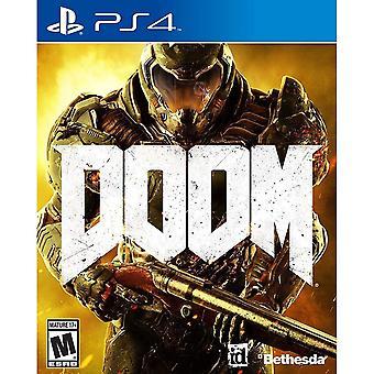 Doom PS4 Game (German Box - EFIGS In Game)