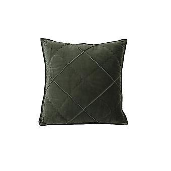 Light & Living Pillow 50x50cm Diamond Velvet Army Green