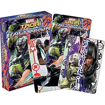 Marvel - thor ragnarok playing cards