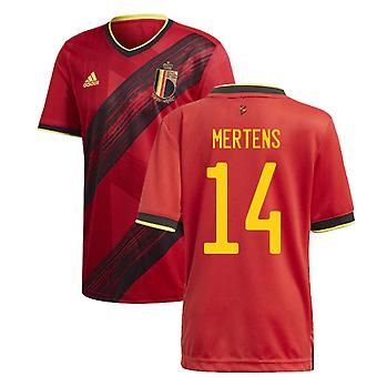 2020-2021 Belgien Home Adidas Fußball Trikot (MERTENS 14)