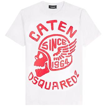 Dsquared2 DSquared2 Caten Skull Graphic T-Shirt