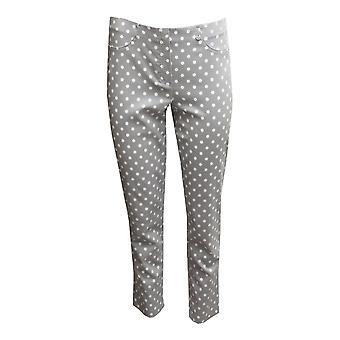 ROBELL Robell Light Grey Trouser Bella 51560 54570 91