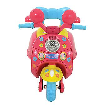 Peppa Pig 6V Batterie Actionné Trike Ride sur pink MV Sports Ages 3 Ans