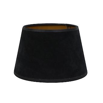 Light & Living Round Shade 20x15x13cm Velours Black Gold