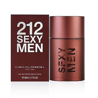 Carolina Herrera 212 Sexy Men Eau de Toilette Spray 50ml
