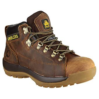 Amblers Safety Unisex FS126 Crazy Horse Lace up Safety Boot