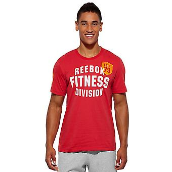 Reebok Fit Dev SS Tee Tshirt Z28594 universal all year men t-shirt