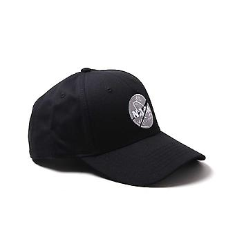 Alpha Industries NASA Logo Navy Baseball Cap