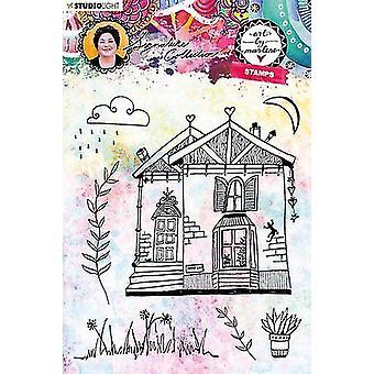 Studio luce chiaro francobollo Art By Marlene 4.0 nr 44 STAMPBM44