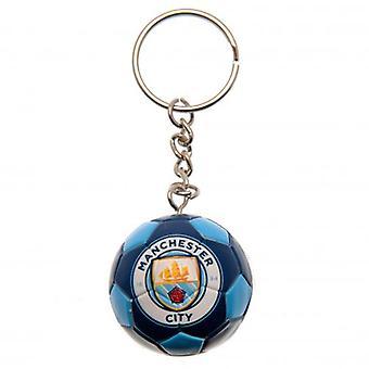 Manchester City Football Keyring