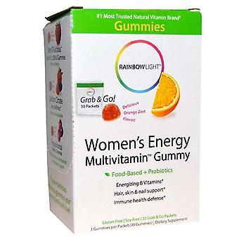 Rainbow light women's energy multivitamin gummy, orange, packets, 30 ea