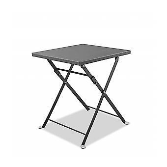 "16"" X 16"" X 18"" Powder Aluminum Side Table"