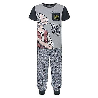 BFG I Believe Pocket Characters Grey Boy's Pyjamas