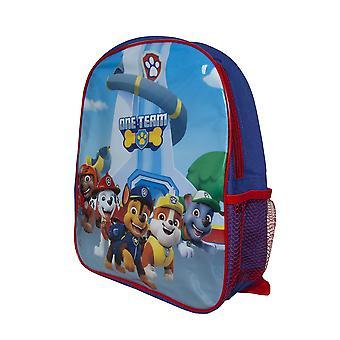 Paw Patrol Enfants/Enfants Un sac à dos d'équipe avec poche.