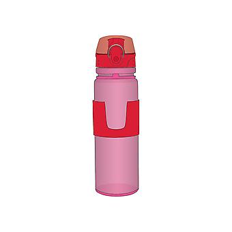 Porta Roller Drinks Bottle, Pink & Red