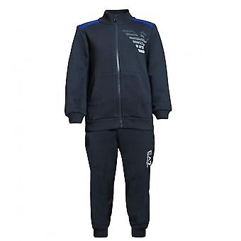 EA7 Boys EA7 Boy's Night Blue Tracksuit