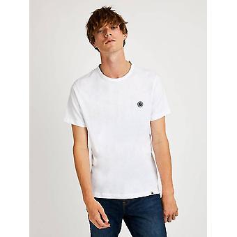 Ganska grön kärna bomull T-shirt - Vit