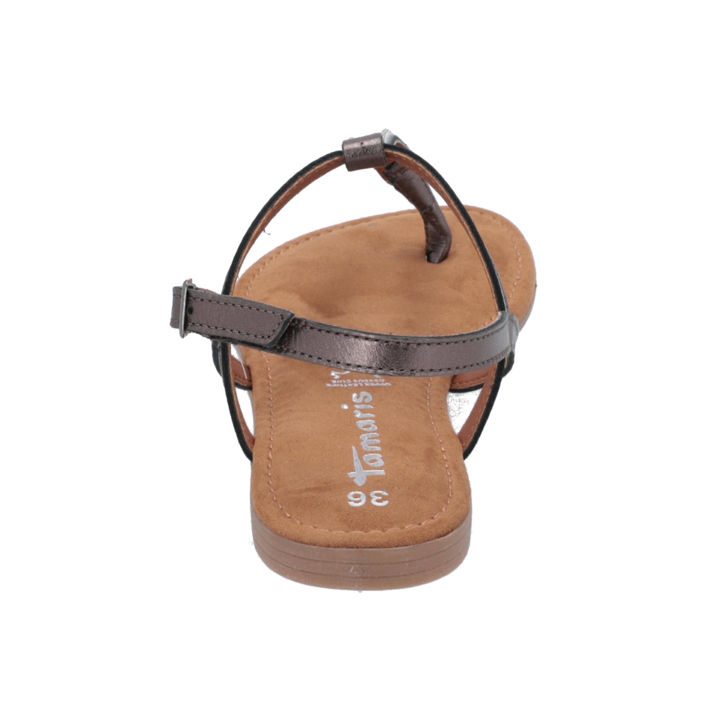 Tamaris 1/1-28917/32 Damen Sandalen Gold Flip-flops Sommer Schuhe