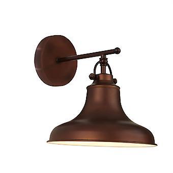 Searchlight Dallas 1 ljus vägg ljusbrun, vit 3010BZ