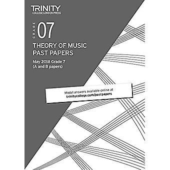 Trinity College London Theory of Music Past Papers (May 2018) Grade 7