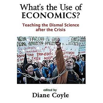 O que é o uso de economia?: ensinando a ciência Dismal depois da crise