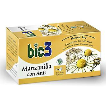 Bio3 Chamomile with Aniseed 1,4 g 25 Bags