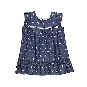 Alouette Girls' Dress With All Over Motivated Hearts