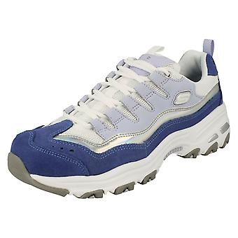 Ladies D'Lites By Skeches Air-Cooled Memory Foam Trainers Grand View