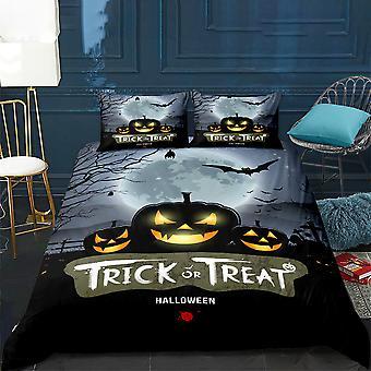 Halloween Printed Bedding Set