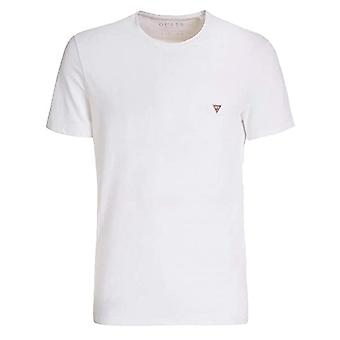 Devinez Slim Fit M0gi24j1300 Triangle Core Logo T-shirt à demi-manches
