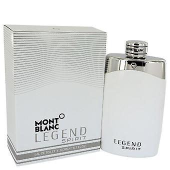Montblanc Legend Spirit Eau De Toilette Spray By Mont Blanc 6.7 oz Eau De Toilette Spray