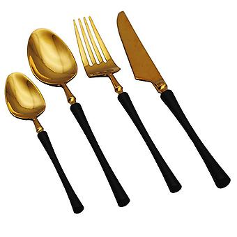 Stainless Steel Cutlery Set Forks Knives