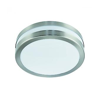 Ceiling Light 28 Cm Outdoor Lights, In Stainless Steel And Polycarbonate