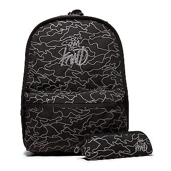 Kings Will Dream | Kwd Galeta Reversible Backpack With Pencil Case - Black