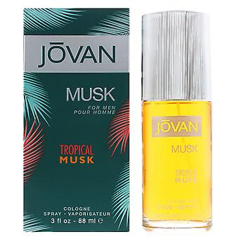 Jovan Tropical Musk For Men Cologne Spray 88ml For Him