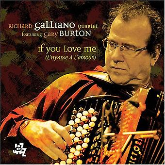 Richard Galliano - If You Love Me [CD] USA import