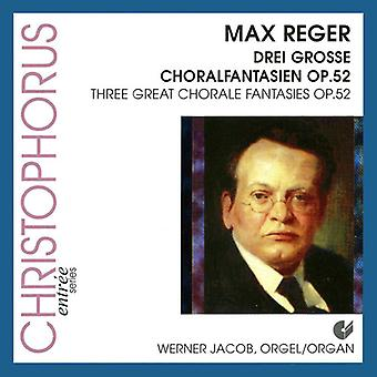 Drei Grosse Choralfantasien 52 [CD] USA import