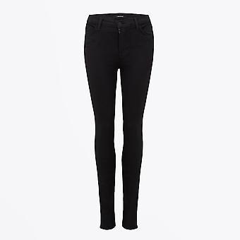 J Brand - Maria - High Rise Super Skinny Jeans - Zwart