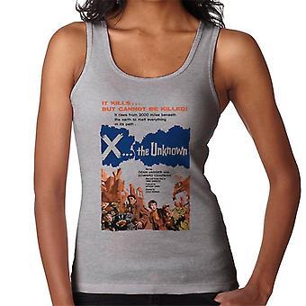 Hammer Horror Films X L'ignoto non può essere ucciso donne's Vest